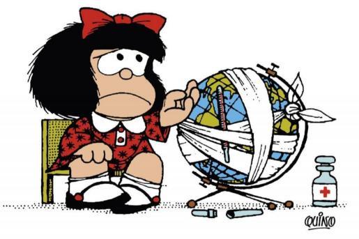 Mafalda es el personaje universal de Quino.