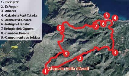 Ruta por es Verger, Horts Vells d'Albarca y s'Arenalet.