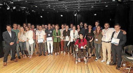 Los finalistas de la categoría Start 2019.
