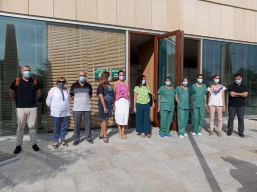 La consellera de Salut y su equipo han presentado el centro pionero específico de atención pediátrica rápida.