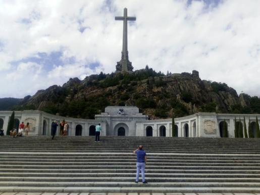 Vista de la Basílica del Valle de los Caídos.