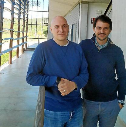 Maxime Renaudin y Cristian Alcoba, cofundadores de Hotelbreak.