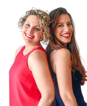 Zahara La Roda y Nuria Guirao están al frente de Pinterésate.