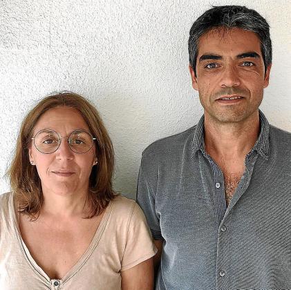Àngels Florit y Víctor López, de Serclet.