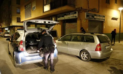 La agresión tuvo lugar en un piso de la calle Siete Picos de Son Gotleu en 2016.
