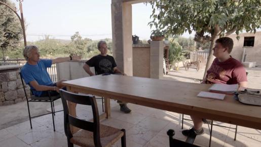 Una de las visitas que ha realizado Fernando Simón ha sido a la finca de Miquel Montoro,