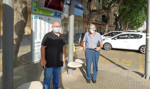 Pedro Andrés Medina y Miquel Obrador encabezan el movimiento vecinal por la recuperación de las líneas.