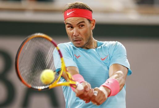 El tenista español Rafa Nadal, en la tercera ronda de Roland Garros.