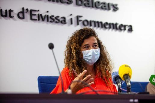 LA consellera del área de Presidencia, Cultura e Igualdad, Pilar Costa.