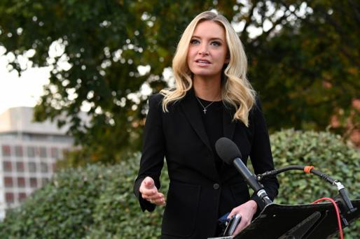 La portavoz de la Casa Blanca, Kayleigh McEnany.