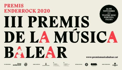 La entrega de los galardones se realizará el próximo 26 de noviembre en el Teatre Xesc Forteza, en Palma.