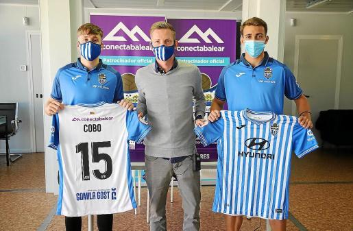 Carlos Cobo y Maselga, nuevos jugadores Atlético Baleares.
