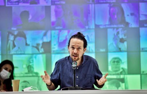 El secretario general de Podemos y vicepresidente segundo del Gobierno, Pablo Iglesias, en una reciente imagen.