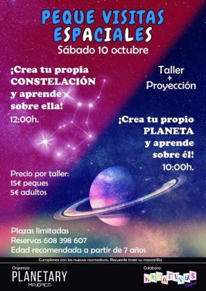 Planetary Mallorca organiza dos talleres para los más pequeños de la casa.