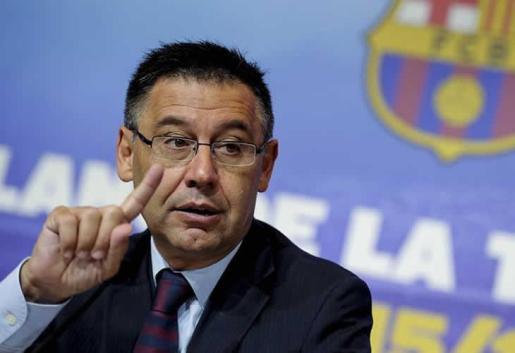 El presidente de FC Barcelona, Josep Maria Bartomeu.