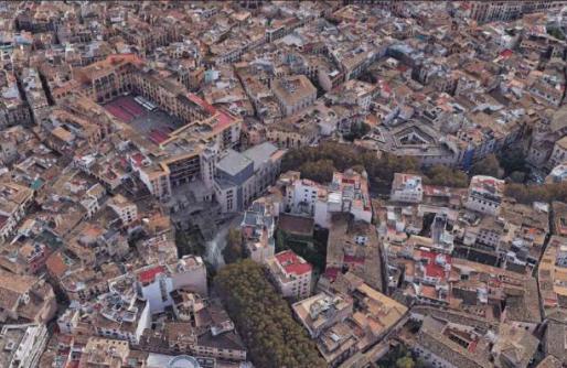 Palma iniciará en dos meses el concurso de ideas para reformar la plaza Major.