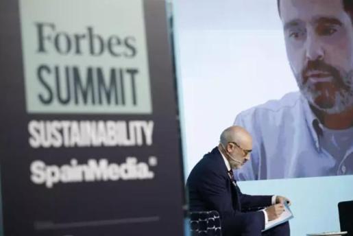 El CEO de Aquaservice, Alberto Gutiérrez, en la segunda edición del Forbes Summit Sustainability.