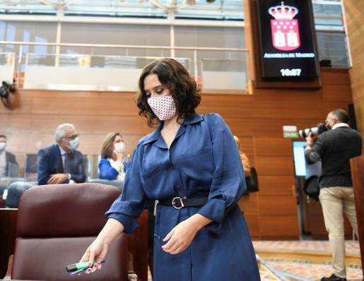 La presidenta regional, Isabel Díaz Ayuso.