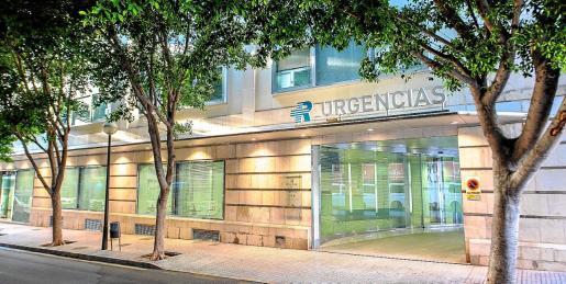 Servicio de Urgencias de la Clínica Rotger .