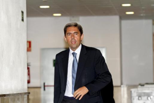El ex vicepresidente de la Generalitat Valenciana, Vicente Rambla, hoy en Palma.