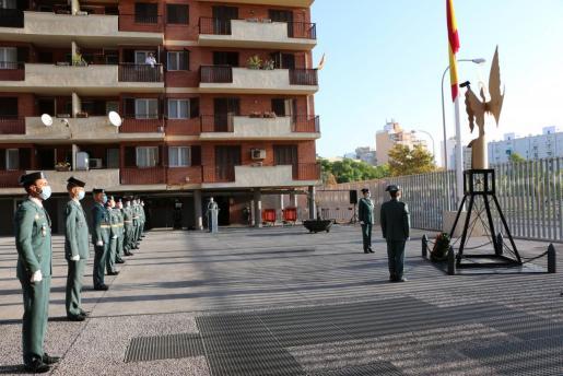 Imagen del acto, realizado este domingo en Palma.