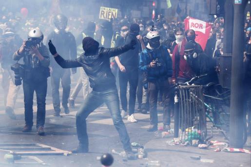 Los hechos han tenido lugar en la comunidad de Champigny-sur-Marne, en el departamento septentrional de Valle del Marne, de la región de Ille de France. Imagen de archivo de disturbios violentos en el país galo.