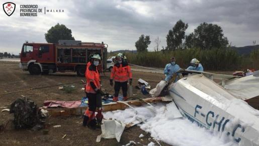 Un muerto y un herido en un accidente en Vélez.