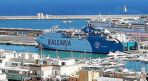 Los tres 'ferries' cubren las rutas desde Palma con Barcelona e Ibiza.