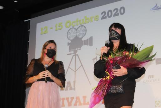 Rossy de Palma durante la inauguración de la quinta edición del Festival de Cine Italo-Español.