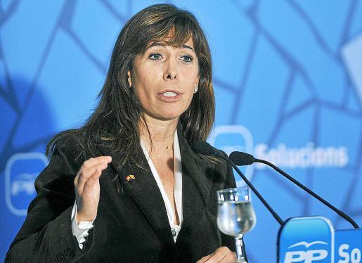 Alícia Sánchez-Camacho, presidenta del PP catalán, en una imagen de archivo.