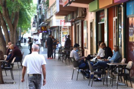 Los contagios siguen aumentando en Palma.