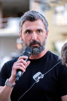 El extenista croata Goran Ivanisevic.