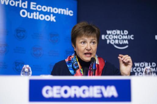 La directora general del Fondo Monetario Internacional Kristalina Georgieva.