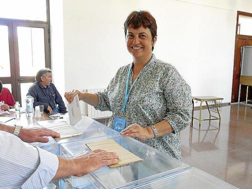 Imagen de archivo de la exalcaldesa de Ses Salines, María Bonet.
