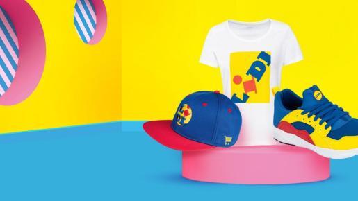 Lidl puso a la venta en algunos países una línea de ropa de su propia marca.