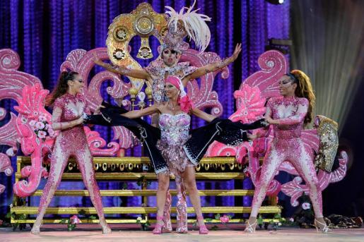 Elección del Drag Queen del carnaval de Las Palmas de Gran Canaria en la pasada edición.