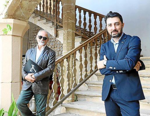 Roberto y Felipe Menéndez, en Son Amar.