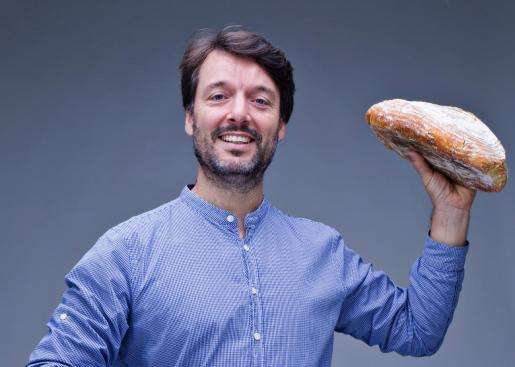 Ibán Yarza, en una imagen promocional, es uno de los  mayores expertos en pan de España.