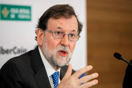 El expresidente del Gobierno Mariano Rajoy,