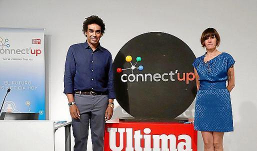 Tona Pou y Marvin Singhateh, coordinadores de la tercera edición de Connect'Up 2020.
