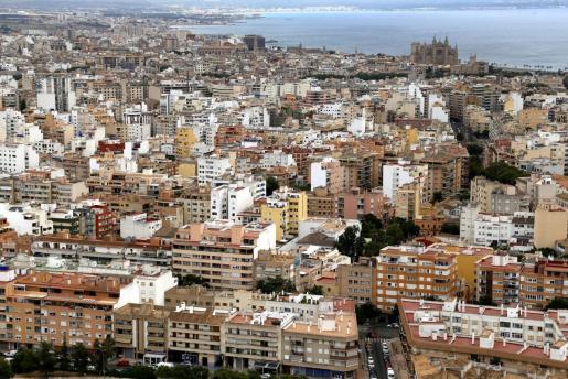 Vista general de la ciudad de Palma.