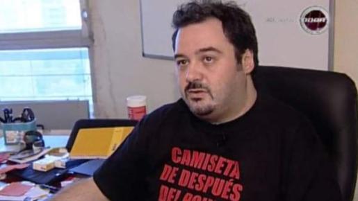 El actor porno Torbe.