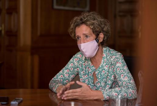 La delegada del Gobierno en Baleares, Aina Calvo.