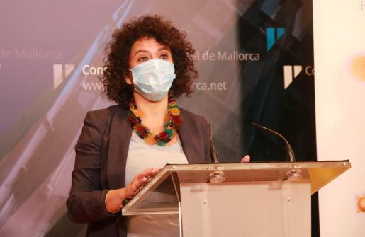 La consellera insular de Territorio, Maria Antònia Garcías.