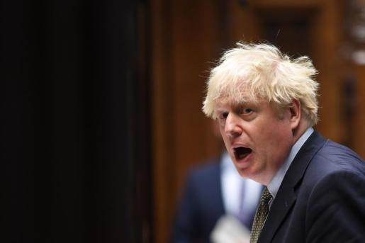 Boris Johnson, crítico con las negociaciones con la Unión Europea.