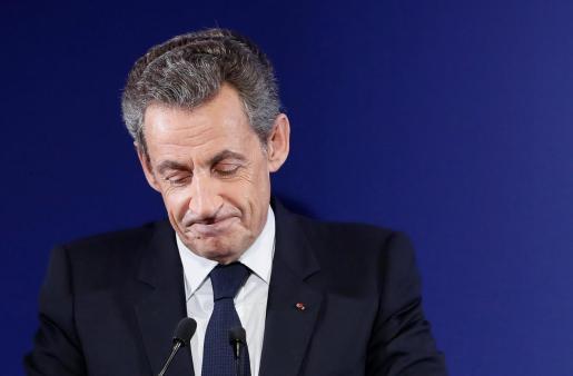 Fotografía de archivo del ex presidente francés Nicolas Sarkozy.