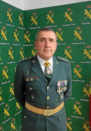 El coronel Ramón Campillo del Río ha visitado Mallorca.