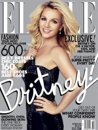 Britney Spears, protagonista absoluta de la portada de Elle.