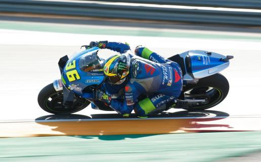 El mallorquín Joan Mir, durante el Gran Premio de Aragón de MotoGP.