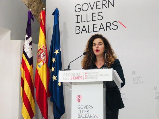 La portavoz del Govern, Pilar Costa, ha dado cuenta de los acuerdos del Consell de Govern.